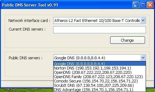 Public DNS Server Tools