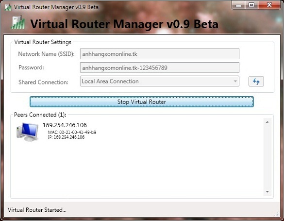 VirtualRouterManager