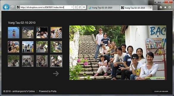 Porta – Tự tạo trang chia sẻ hình ảnh trực tuyến