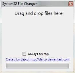 System32 File Changer – Thay thế tập tin hệ thống dễ dàng