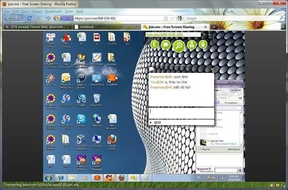 Join.me – Giải pháp điều khiển máy tính từ xa từ web