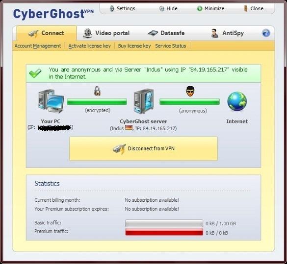 1 tháng sử dụng tài khoản Premium CyberGhost VPN miễn phí
