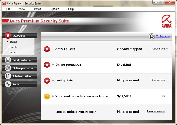Avira Premium Security Suite