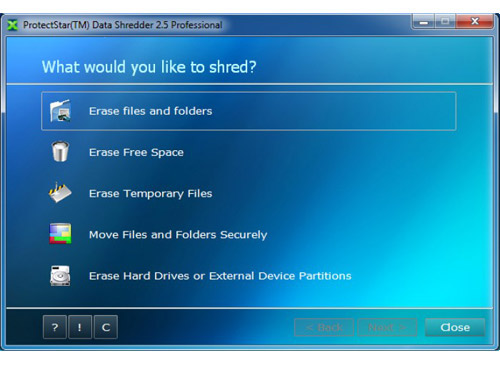 ProtectStar Data Shredder 2.5