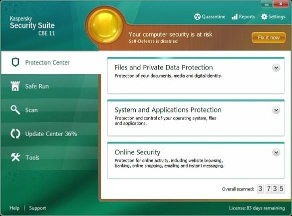 Kaspersky Security Suite CBE 11