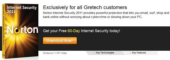 Norton Internet Security 2011 - Bản dùng thử 2 tháng miễn phí