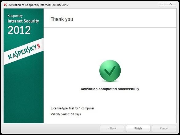 Kaspersky Internet Security 2012 - Tải bản dùng thử 2 tháng miễn phí