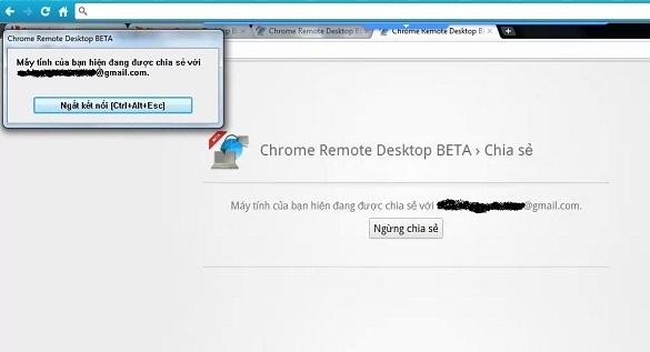 Chrome Desktop Remote Beta - Trình điều khiển máy tính từ xa tiện lợi nhất !