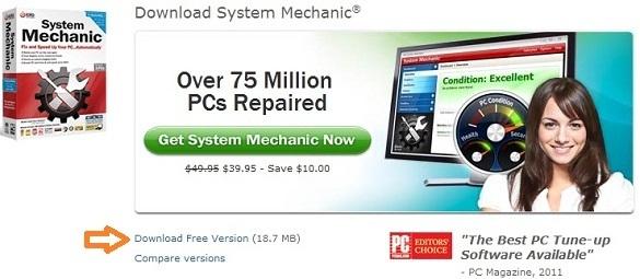 System Mechanic đã có bản miễn phí !