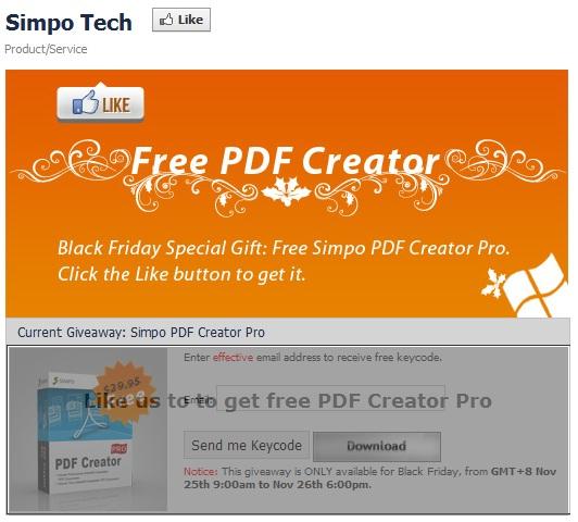 SIMPO PDF Creator Pro - Nhận key bản quyền miễn phí
