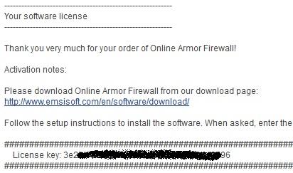 Emsisoft Online Armor Premium 5.1 - Nhận key bản quyền miễn phí