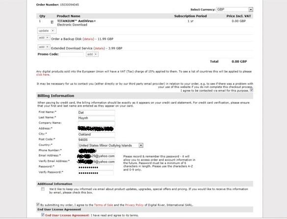 TrendMicro Titanium AntiVirus+ 2012 - Nhận key bản quyền 1 năm miễn phí