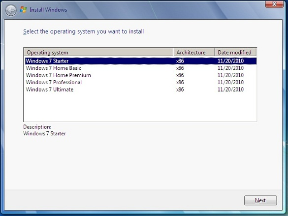 Link tải trực tiếp Windows 7 SP1 từ Digital River