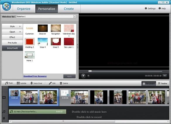 Wondershare Slideshow Builder Standard - Nhận key bản quyền miễn phí