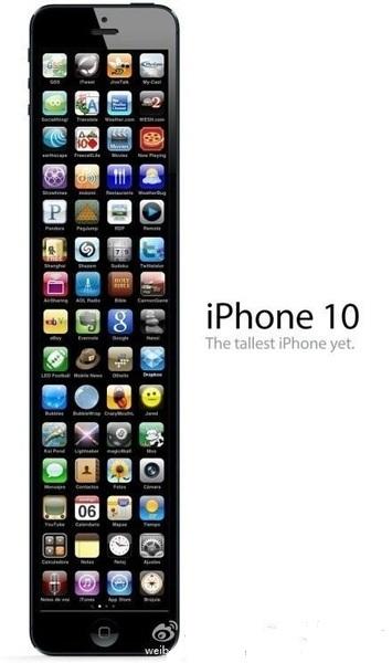 iPhone 5, iPhone 6, iPhone 7 và iPhone 10 lộ diện