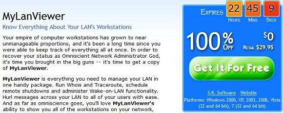MyLanViewer Network IP Scanner - Nhận key bản quyền miễn phí