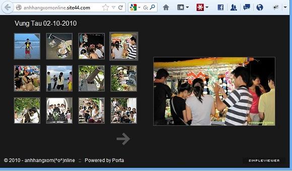 Site44.com - Hỗ trợ tạo trang web tĩnh và lưu trên Dropbox