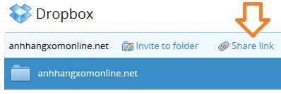 Dropbox giới thiệu tính năng chia sẻ thư mục mới