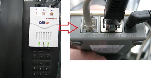 OBi100 VoIP Tel Adapter - Gọi điện thoại miễn phí qua Internet