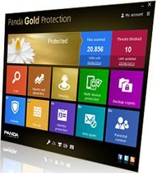 Panda Gold Protection 2014 - Nhận key bản quyền 6 tháng miễn phí
