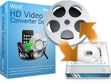 WinX HD Video Converter Deluxe 4 - Nhận key bản quyền miễn phí