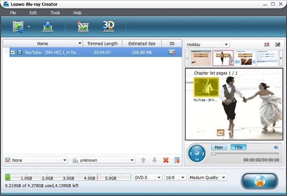 Leawo Blu-ray Creator - Nhận key bản quyền miễn phí