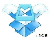 Tăng dung lượng Dropbox lên 1GB miễn phí với Mailbox