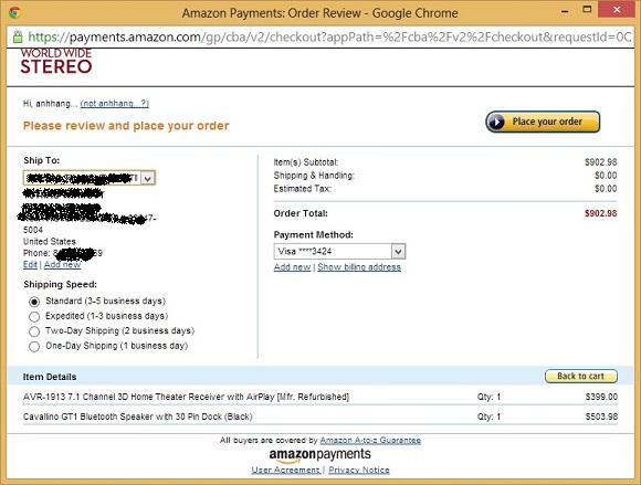 Google Checkout rời cuộc chơi, Amazon Payment đối đầu với PayPal