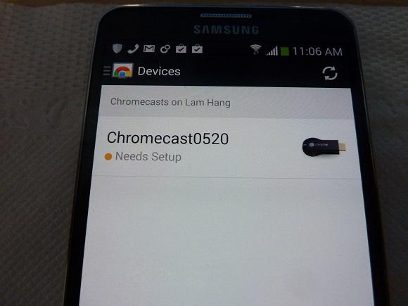 Dùng thử Google Chromecast