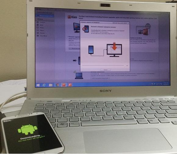 Factory reset và cài Tiếng Việt cho Samsung Galaxy S4 I337