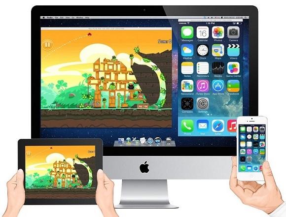X-Mirage for Windows : Hiển thị màn hình iPhone, iPad trên màn hình máy tính
