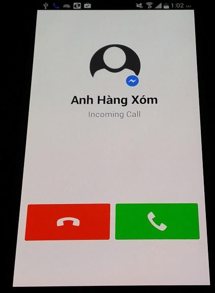 Gọi điện thoại VoIP miễn phí với Facebook Messenger