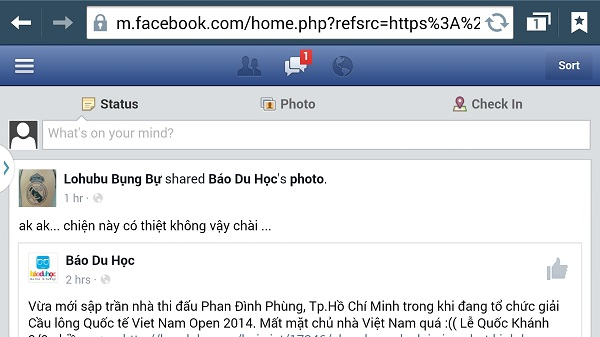 Không Facebook Messenger, sao đọc được tin nhắn