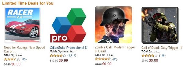 Bộ ứng dụng/game miễn phí từ Amazon - Tải ngay kẻo lỡ