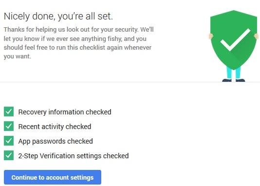 Tăng cường bảo mật và tăng 2GB miễn phí tài khoản Google Drive