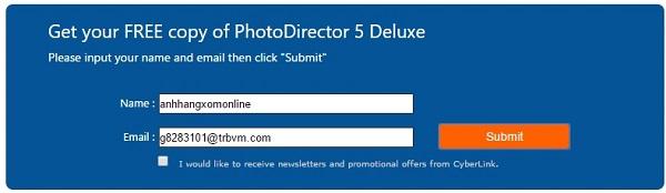 Cyberlink PhotoDirector 5 Deluxe