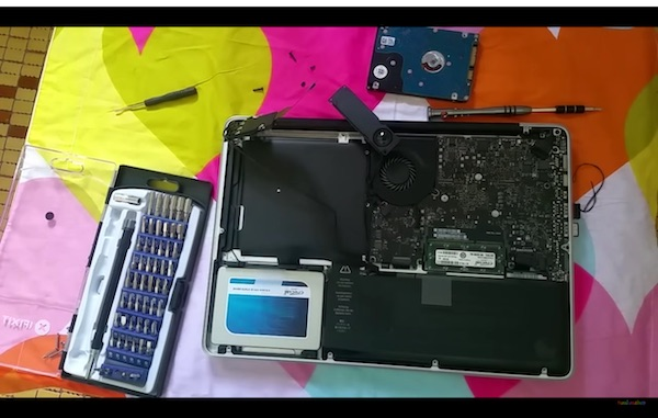 How to upgrade Macbook Pro Hard Drive