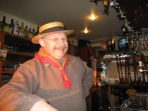 The patron of the Guinguette Auvergnate at Villeneuve Triage