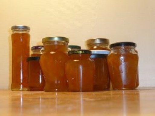 Home-made Seville orange marmalade