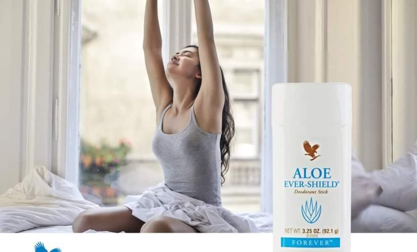 Mồ hôi và mùi cơ thể với Aloe Ever-Shield 067 Flp