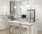 Daytona Homes' kitchen rendering
