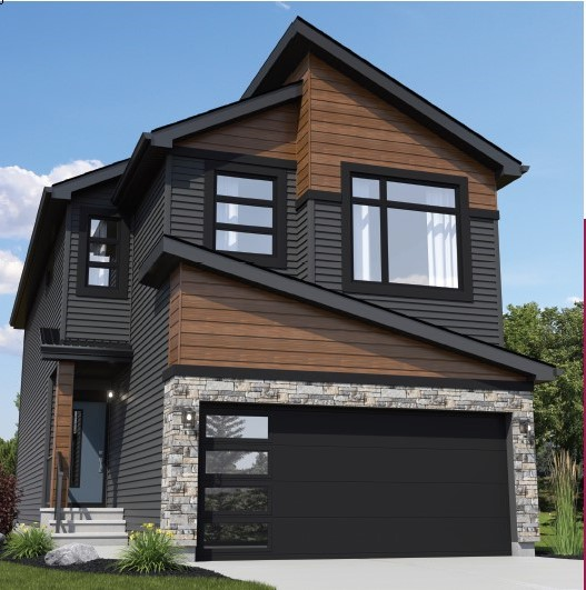 Exterior rendering of Daytona Homes newest showhome in Walden