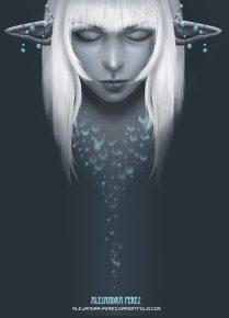 Blue Feelings - Digital Painting