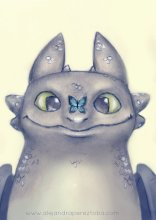 Toothless - Pencil