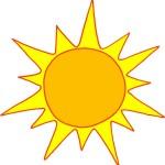 Sun-Cartoon-Character