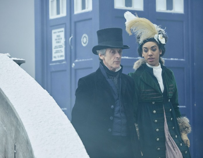 Doctor Who S10 - TX: 29/04/2017 - Episode: Thin Ice (No. 3) - Picture Shows: The Doctor (PETER CAPALDI), Bill (PEARL MACKIE) - (C) BBC - Photographer: Simon Ridgway