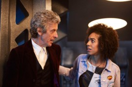 Programme Name: Doctor Who S10 - TX: 15/04/2017 - Episode: n/a (No. 1) - Picture Shows: Doctor Who (PETER CAPALDI), Bill (PEARL MACKIE) - (C) BBC - Photographer: Simon Ridgway