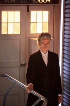 Programme Name: Doctor Who S10 - TX: 15/04/2017 - Episode: n/a (No. 1) - Picture Shows: Doctor Who (PETER CAPALDI) - (C) BBC - Photographer: Simon Ridgway
