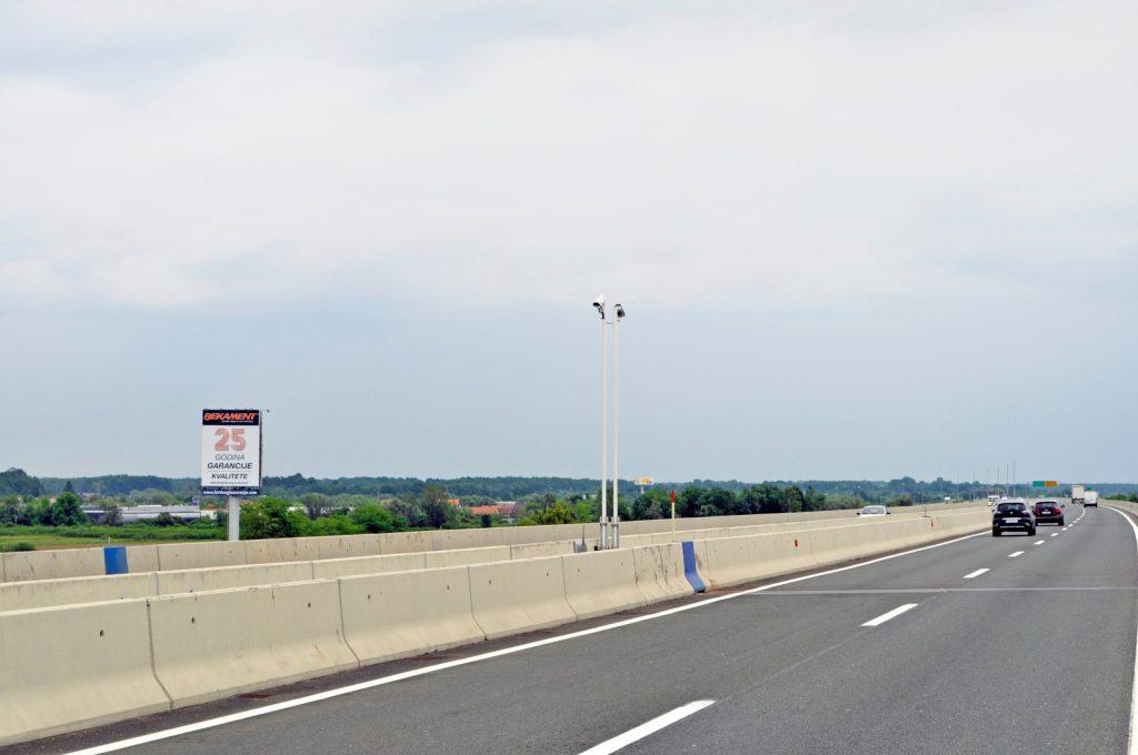 AUTOCESTA A1 ZAGREB – SPLIT, KARLOVAC 2 – SMJER ZAGREB