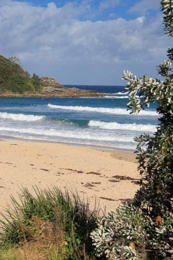 North end of Mollymook Beach